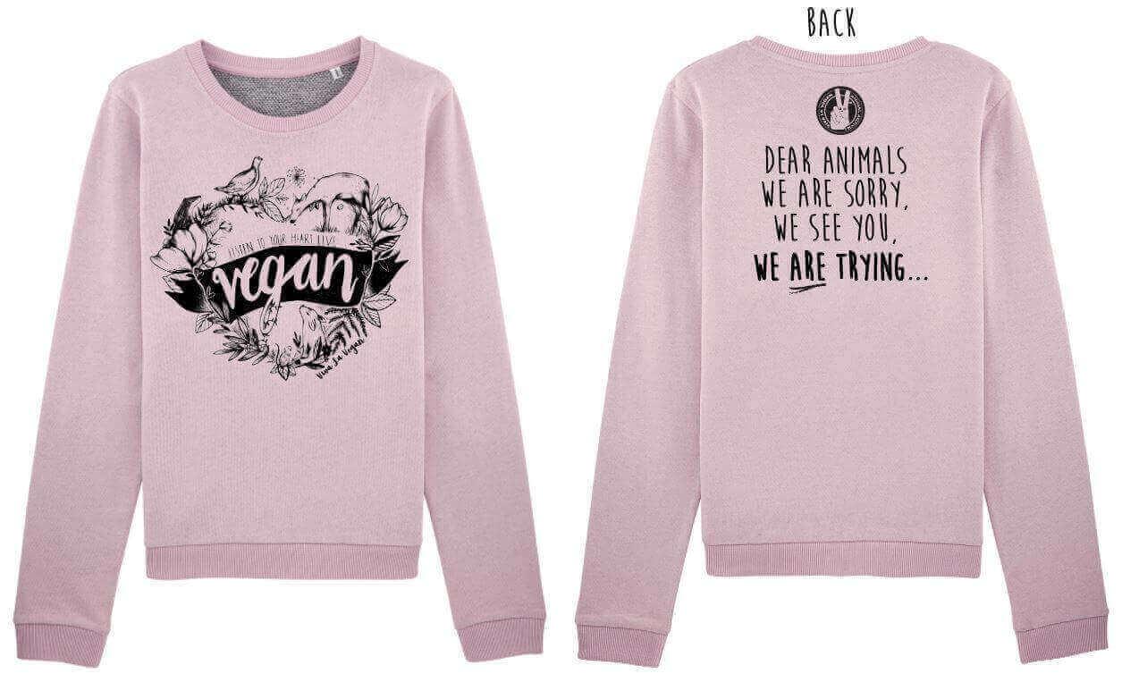 Women's Boxy Sweatshirt : Dear Animals ...