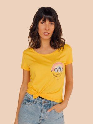 Vegan Animal Lover Organic T-shirt
