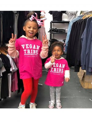 vegan tribes girls pink