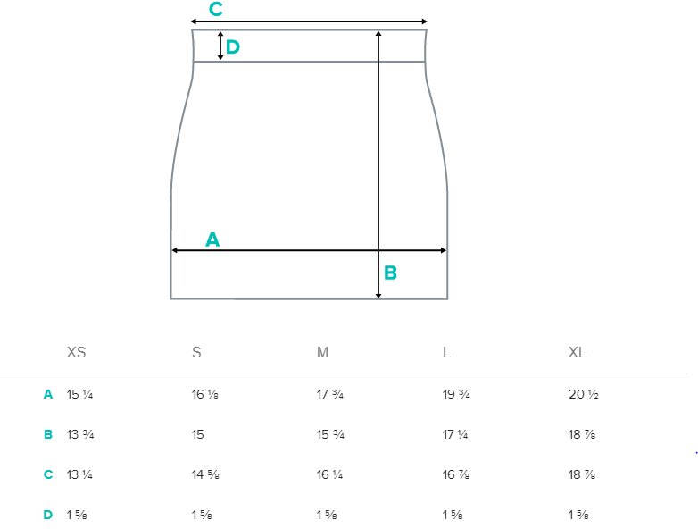 size guide all over print mini skirt