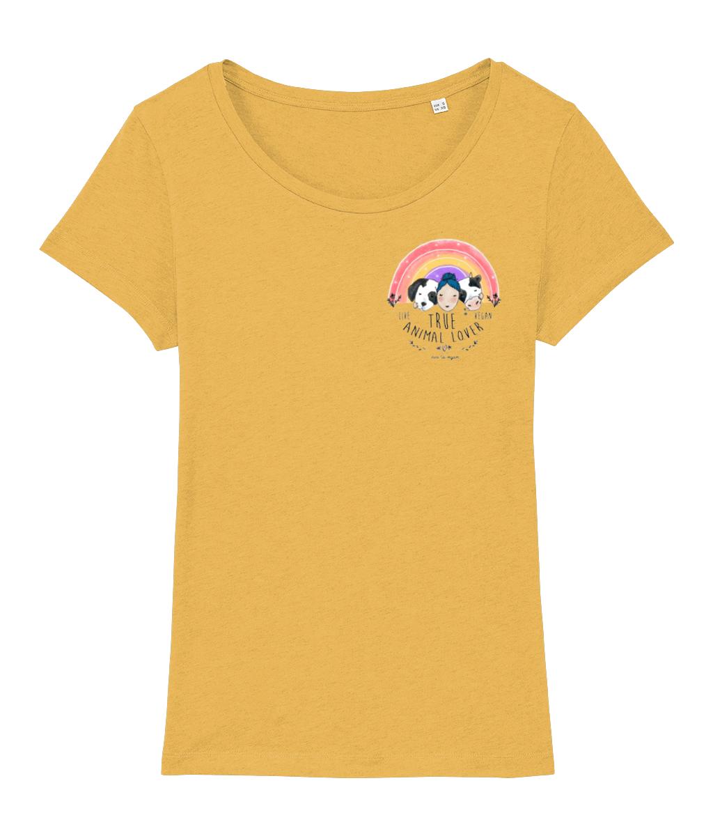 True Animal Lover T-shirt flat