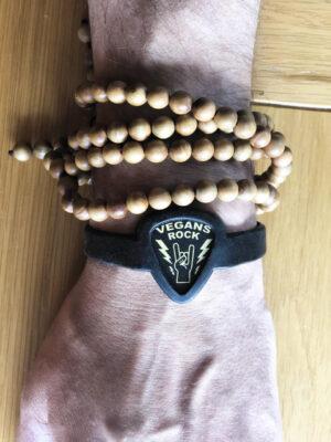 Vegans Rock Bracelet Pick Holder