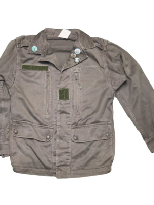 Front view of Viva La Vegan Screen Printed jacket