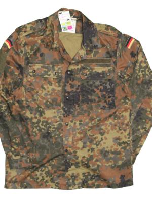 Vegan Jacket - army surplus front view