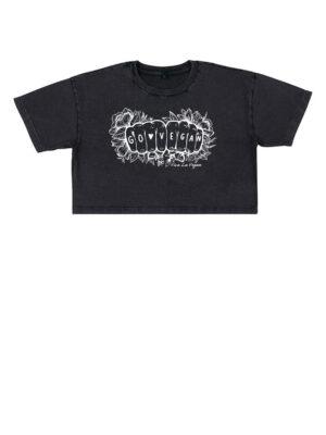 Go Vegan Tattoo Inspired Tshirt Black By Viva La Vegan