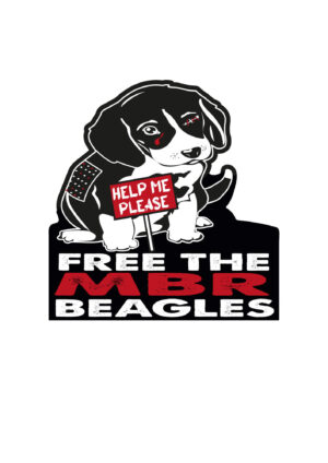 Free The MBR Beagles Vinyl Sticker