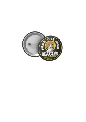 Free The MBR Beagles 32mm Badge Puppy design